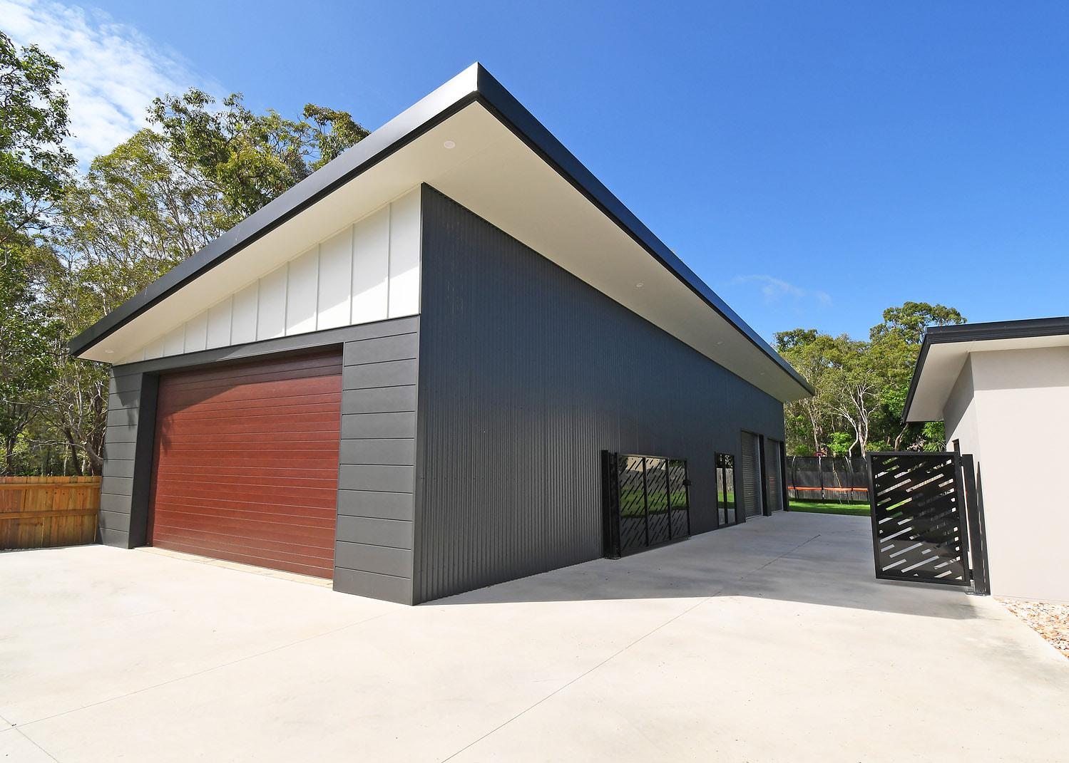 skillion roof shed